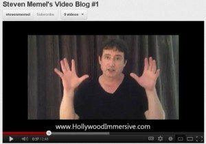 steven memel introduces his video blog